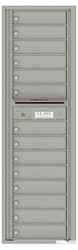 Florence 4C Mailboxes 4C16S-14 Silver Speck