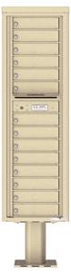 Florence 4C Pedestal 4C16S-14-P Sandstone