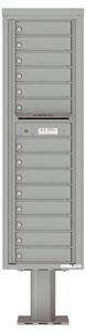 Florence 4C Pedestal 4C16S-14-P Silver Speck