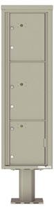 Florence 4C Pedestal 4C16S-3P-P Postal Grey