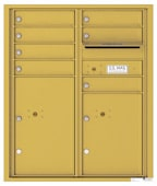 Florence 4C Mailboxes 4CADD-07 Gold Speck