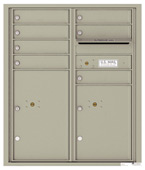 Florence 4C Mailboxes 4CADD-07 Postal Grey
