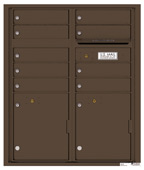 Florence 4C Mailboxes 4CADD-09 Antique Bronze