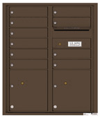 Florence 4C Mailboxes 4CADD-10 Antique Bronze