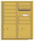 Florence 4C Mailboxes 4CADD-10 Gold Speck