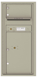 Florence 4C Mailboxes 4CADS-01 Postal Grey