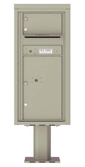 4CADS01-P Commercial 4C Pedestal Mailboxes