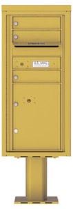Florence 4C Pedestal 4CADS-03-P Gold Speck