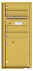 Florence 4C Mailboxes 4CADS-04 Gold Speck