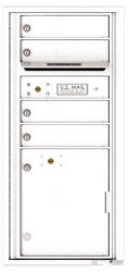 Florence 4C Mailboxes 4CADS-04 White
