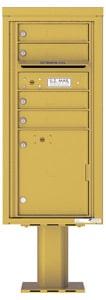 Florence 4C Pedestal 4CADS-04-P Gold Speck
