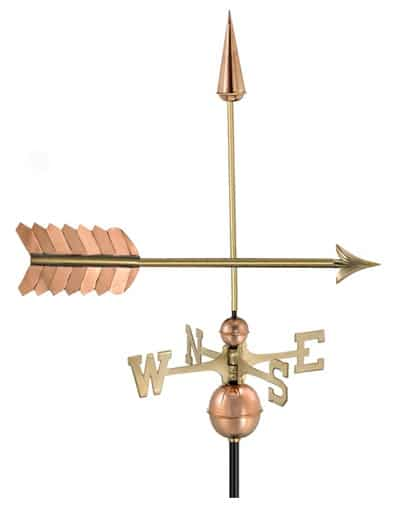 Good Directions Copper Arrow Weathervane