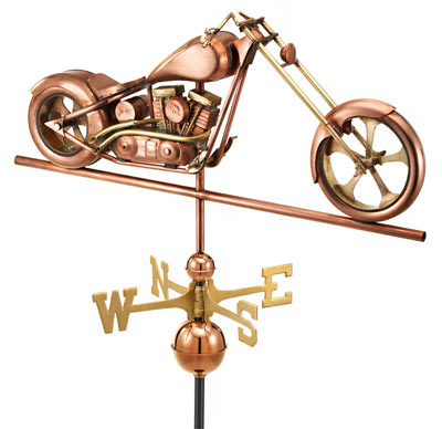Good Directions Copper Chopper Weathervane