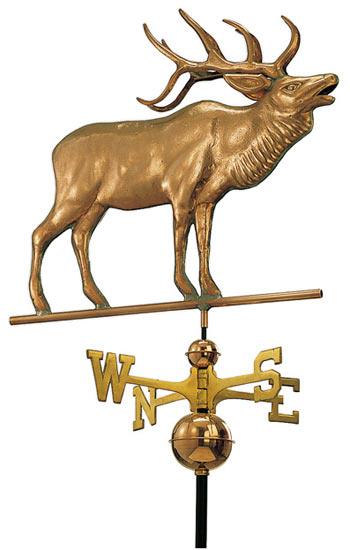 Good Directions Copper Elk Weathervane