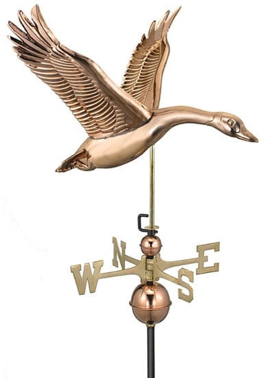 Good Directions Copper Goose Weathervane