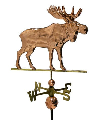 Good Directions Copper Moose Weathervane