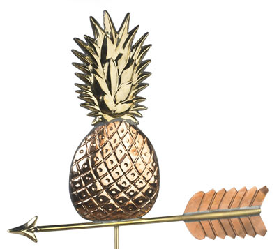 Good Directions Pineapple Weathervane Details