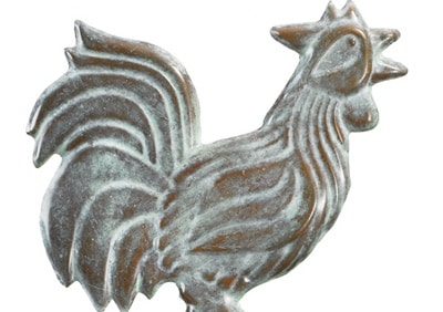 Good Directions Rooster Cottage Weathervane Details