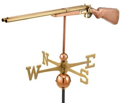 Good Directions Copper Shotgun Weathervanes