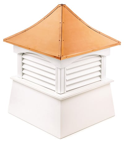 Good Directions Coventry White Vinyl Cupola
