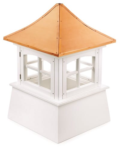 Good Directions Windsor White Vinyl Cupola