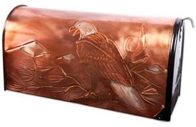 Hentzi Rural Copper Mailbox Bald Eagle
