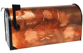 Hentzi Rural Copper Mailbox Majestic Maple