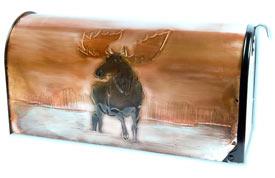 Hentzi Rural Copper Mailbox Moose Lake