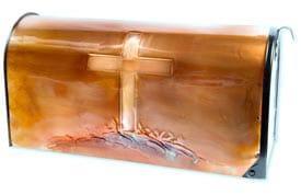 Hentzi Rural Copper Mailbox Cross