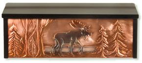 Henzti Wall Mount Mailbox Bull Moose