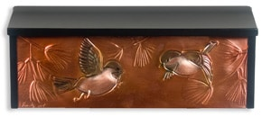 Henzti Wall Mount Mailbox Chickadees