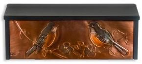 Henzti Wall Mount Mailbox Robins