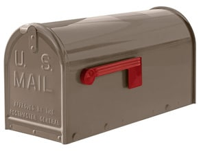 Janzer Mailboxes Gloss Taupe