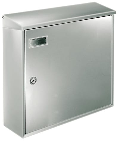 Knobloch Chicago Stainless Wall Mount Mailboxes