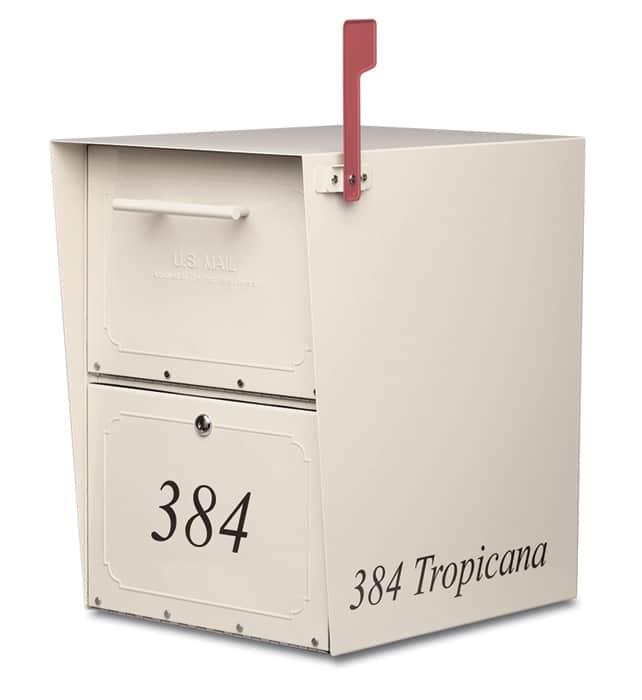 Large Oasis Locking Mailbox