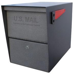 Mail Boss Package Master Mailbox Granite