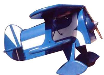 Bi-Plane Novelty Mailbox