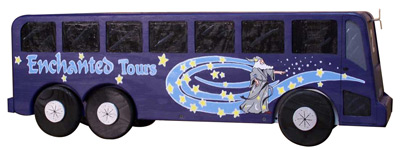 Tour Bus Novelty Mailbox
