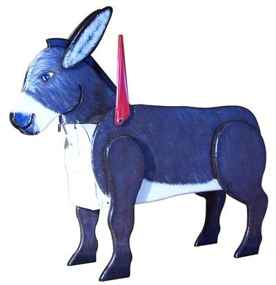 Woodendipity Style Donkey Novelty Mailbox