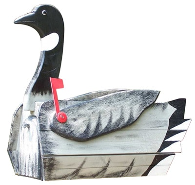 Woodendipity Style Canadian Goose Novelty Mailbox