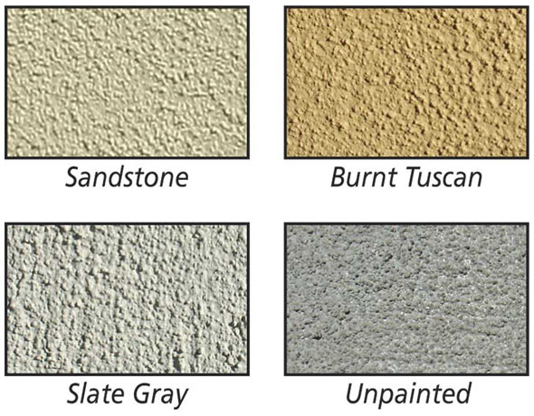 QualArc CBU Stucco Column Finishes