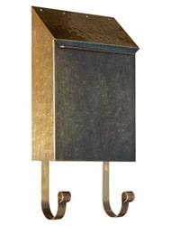 QualArc Provincial Vertical Antique Hammered Brass