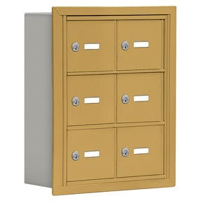Salsbury 19035-06 Phone Locker Gold