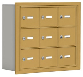 Salsbury 19035-09 Phone Locker Gold