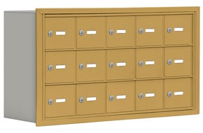 Salsbury 19038-15 Phone Locker Gold