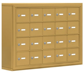Salsbury 19045-20 Phone Locker Gold
