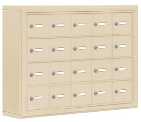 Salsbury 19045-20 Phone Locker Sandstone