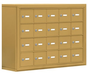Salsbury 19048-20 Phone Locker Gold