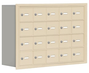 Salsbury 19048-20 Phone Locker Sandstone