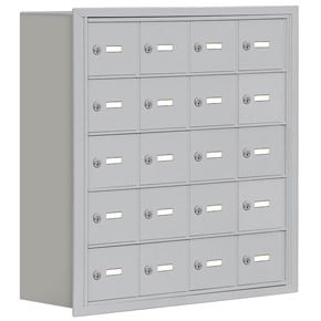 Salsbury 19058-20 Phone Locker Aluminum
